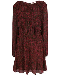 MICHAEL Michael Kors Michl Michl Kors Long Sleeved Patterned Dress