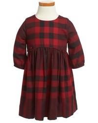 Burberry Rochella Check Print Dress