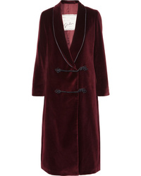 Burgundy Duster Coat