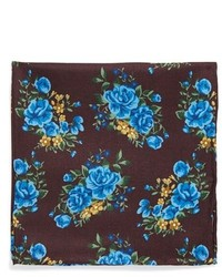 Floral silk pocket square medium 242620