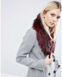 Asos Faux Fur Mini Slot Through Collar