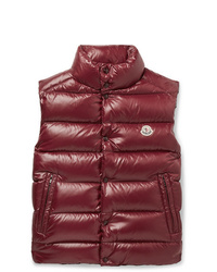 Moncler Tib Slim Fit Quilted Shell Down Gilet
