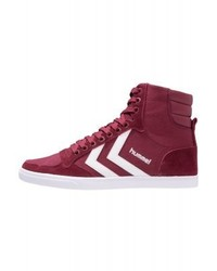 Slimmer stadil high top trainers red medium 3791386