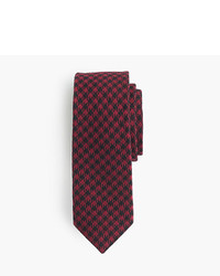 J.Crew Cotton Tie In Houndstooth