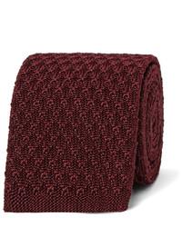 Ermenegildo Zegna 5cm Knitted Silk Tie