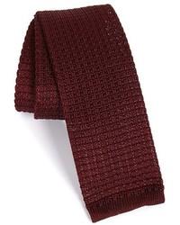 Knit silk tie medium 355957