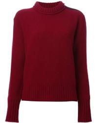 Belstaff Ribbed Neck Sweater