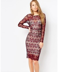 Body Frock Lisa Scuplting Lace Bodycon Dress