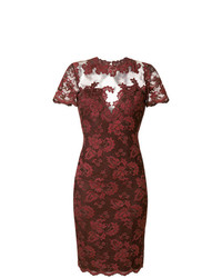 Olvi´S Lace Embroidered Fitted Dress