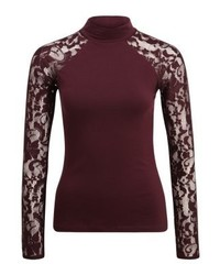 Anna Field Long Sleeved Top Winetasting