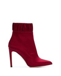 Chloe Gosselin Gathered Ankle Boots