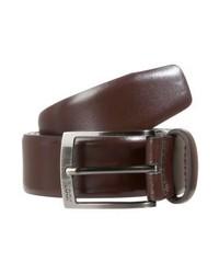 Belt business bordeaux medium 3841130