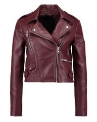 Vmrida leather jacket zinfandel medium 3993105