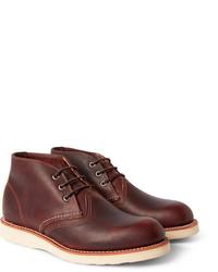 Work leather chukka boots medium 288847