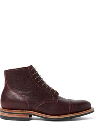 Viberg service leather brogue boots medium 718128