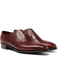 George Cleverley Anthony Churchill Leather Oxford Brogues