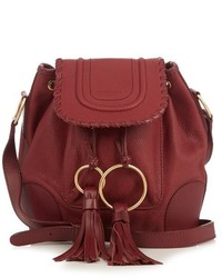 See by Chloe See By Chlo Polly Leather Bucket Bag