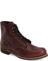 Red wing iron ranger 6 inch cap toe boot medium 591733