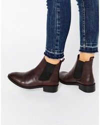 Attribute leather chelsea ankle boots medium 823386