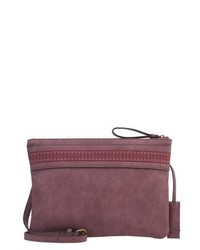 Esprit Clutch Bordeaux Red