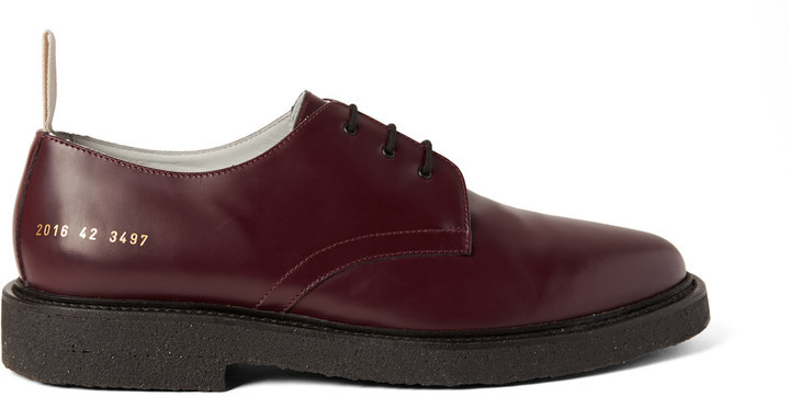 60b35ac09adc ... Common Projects Cadet Leather Derby Shoes ...