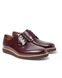 Common Projects Polished Leather Derby Shoes