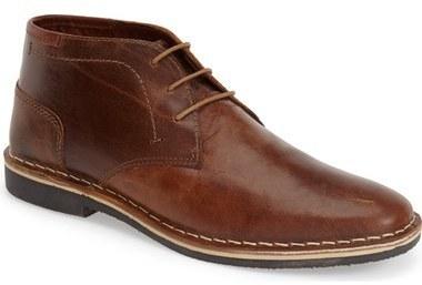 Steve Madden Harken Leather Chukka Boot