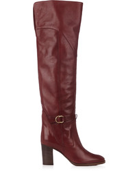 Chloé Chlo Lenny Leather Knee High Boots
