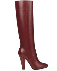 Leather knee high boots medium 959794