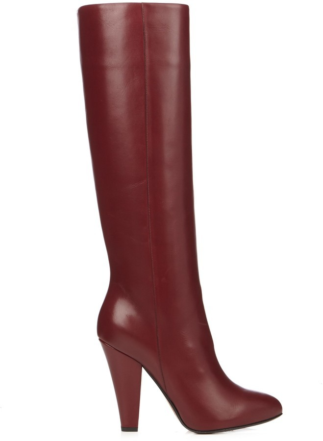 details for recognized brands Buy Authentic Leather Knee High Boots