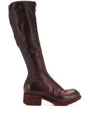 Guidi Zip Front Knee High Boots