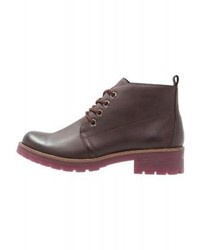 Lace up boots merlot antic medium 5366055