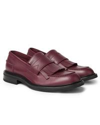Bottega Veneta Fringed Leather Loafers