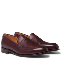 Cheaney Hadley Burnished Leather Penny Loafers