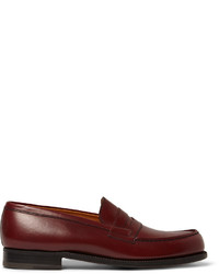 Jm Weston 180 The Moccasin Leather Loafers