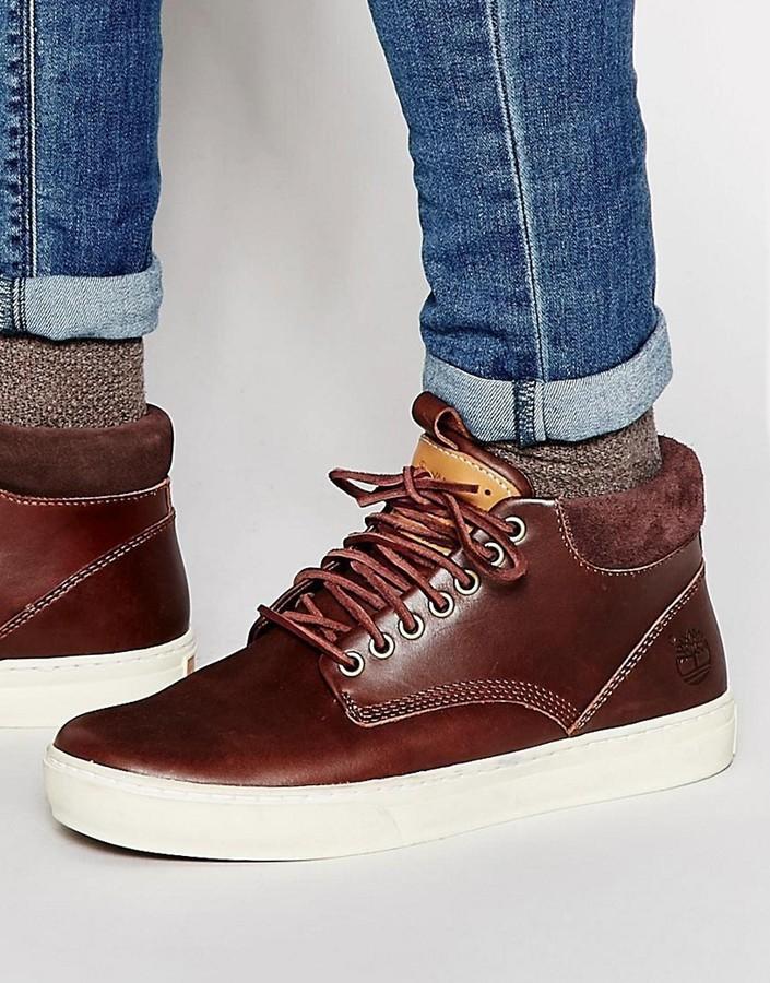 Timberland Uk Cupsole Lookastic £106 Asos Chukka Sneakers Adventure TwrxaqAPT