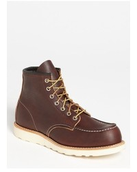 Red wing 6 inch moc toe boot medium 739730