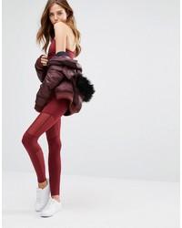 Varley sycamore burgundy legging medium 1101687