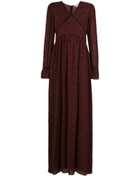 MICHAEL Michael Kors Michl Michl Kors Fitted Long Sleeved Maxi Dress