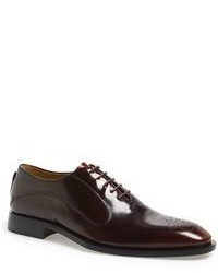 Burgundy Oxford Shoes