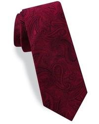 Ted Baker London Paisley Silk Skinny Tie