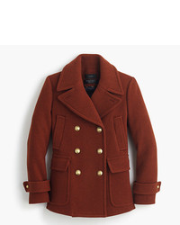 J.Crew Stadium Cloth Majesty Peacoat
