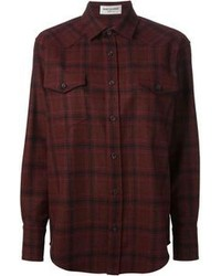 Oversized checked shirt medium 102720