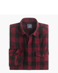 Midweight flannel shirt in batavia plaid medium 790123