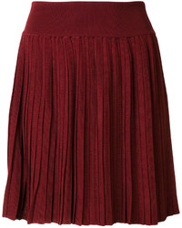 Pleated mini skirt medium 5145488