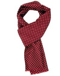 Smart scarf with polka dot medium 27163