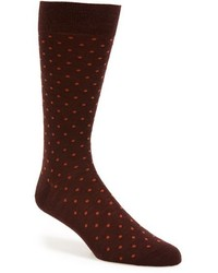Pantherella Hackney All Over Polka Dot Socks