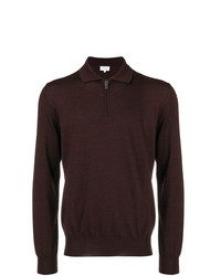 Brioni Front Zipped Polo Shirt