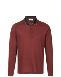 Cerruti 1881 Satin Collar Polo Shirt