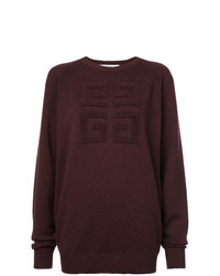 Givenchy 4g Textured Sweater